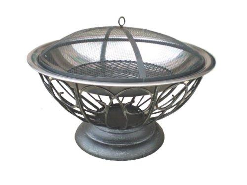 Fire Sense Stainless Steel Urn Fire Pit