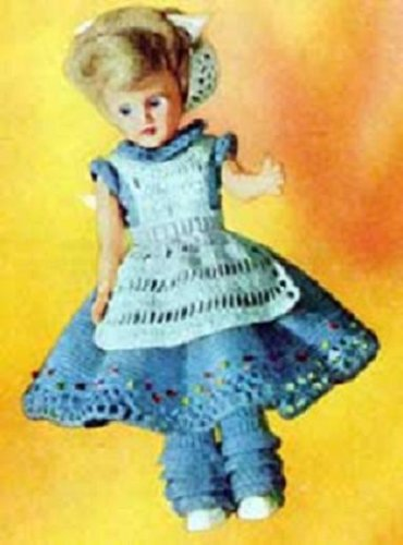 ALICE IN WONDERLAND DOLL - Downloadable Vintage 1951 Crochet Pattern.Text-to-Speech enabled. Available for Download to Kindle DX, Kindle for PC, Mac, iPhone, ... story, fairy tale, Northern Lights Vintage)