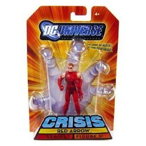 Buy Low Price Mattel DC Universe Infinite Heroes Crisis Series 1 Action Figure #51 Red Arrow (B002VT884I)