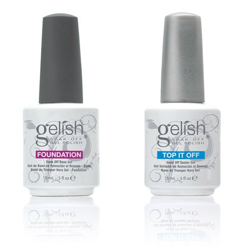 HARMONY gelish Top it Off Foundation ハーモニー 2点セット