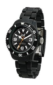 Ice-Watch Unisex-Armbanduhr Medium Big Classic Solid Schwarz CL.BK.U.P.09