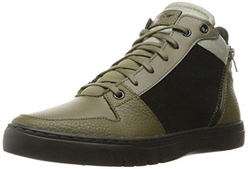 Creative Recreation Men's Adonis Mid Fashion Sneaker, Black Olive Fog, 12 M US