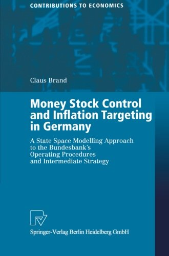 Money Stock Control and Inflation Targeting in Germany: A State Space Modelling Approach to the Bundesbank's Operating P