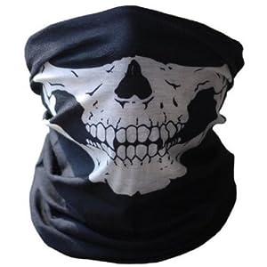 Buy Bestpriceam Bicycle Ski Skull Half Face Mask Ghost Scarf Multi Use Neck Warmer COD by bestpriceam