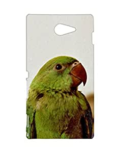 Mobifry Back case cover for Sony Xperia M2 Mobile (Printed design)