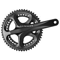 Shimano Ultegra FC-6700 10-speed Road Bicycle Race Double Crank Set (53/39, 172.5mm)
