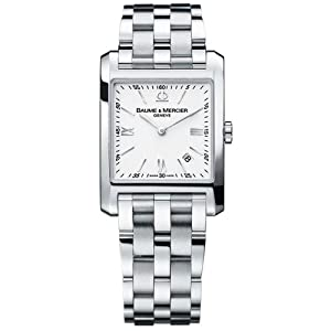 Baume & Mercier Men's 8676 Hampton Square Bracelet Watch