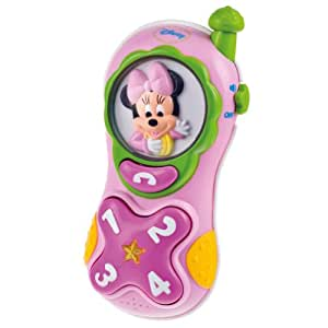 With voice, lights and sounds Disney Mobile Baby Minnie