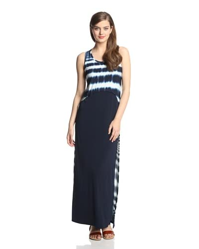 Muse Women's Maxi Dress with Mesh Detail
