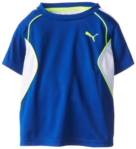 Puma Little Boys' Toddler 48 T-Shirt, Competition Blue, 4T front-829889