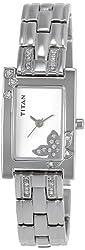 Titan Raga Analog Silver Dial Womens Watch - NE9716SM01J
