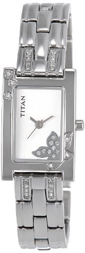 Titan Raga Analog Silver Dial Women's Watch – NE9716SM01J
