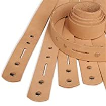 """Tandy Leathercraft Natural Cowhide 1"""" Belt Blank New 4515-00"""