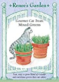 Cat Treats, Gourmet, Mixed Greens