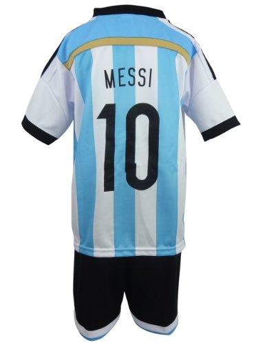 子供用サッカーユニフォーム アルゼンチン代表 14-15 ホーム 背番号 10 リオネル メッシ Mサイズ fc15-008-M