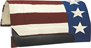 Abetta Ole Glory Show Pad - Red, White & Blue - 36X36x1