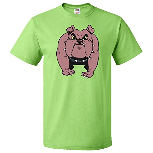 Inktastic Bull Dog T-Shirt Medium Key Lime