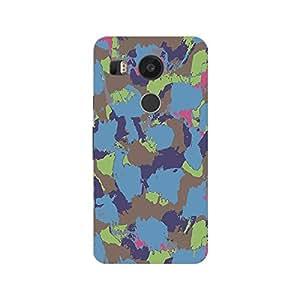 Garmor Designer Plastic Back Cover For LG Nexus 5X