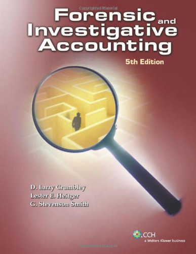 Forensic & Investigative Accounting (Fifth Edition)