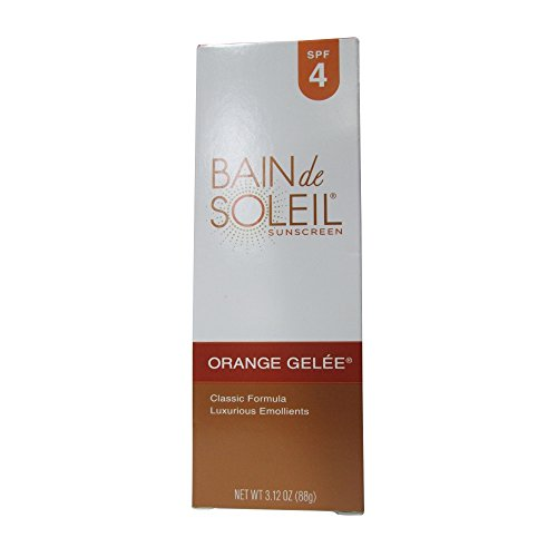 bain de sunscreens soleil orange gelee sunscreen spf 4 tube pack of ebay. Black Bedroom Furniture Sets. Home Design Ideas