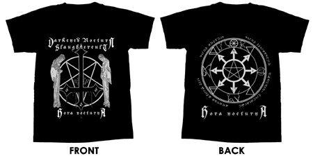 Darkened Nocturn Slaughtercult - Hora Nocturna - T-Shirt