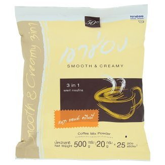 Khao Shong 3 In 1 Smooth & Creamy Powder Coffee Mix 20g x 25 Sticks (Tamper Mr Coffee compare prices)