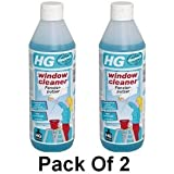 HG Window Cleaner 500ml Pack of 2