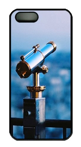 Astronomical Telescope Polycarbonate Custom Iphone 5S/5 Case Cover - Black