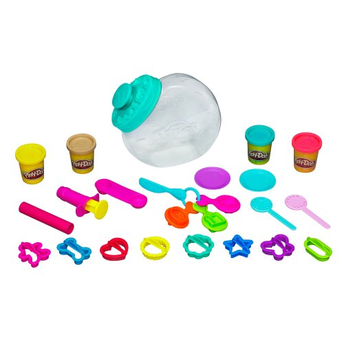 Play-Doh Sweet Shoppe Candy Jar Set (Play Dough Scoops And Treats compare prices)