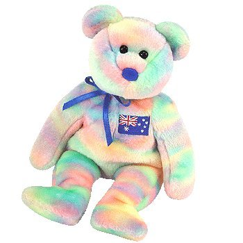 TY Beanie Baby - AUSSIEBEAR the Bear (Australian Exclusive)