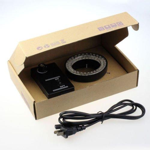 60Led Adjustable Ring Light Illuminator Lamp For Stereo Zoom Microscope Vogue