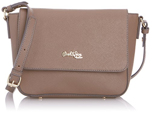 Paul & Joe Sister Cumin Taupe, Borsa messenger donna