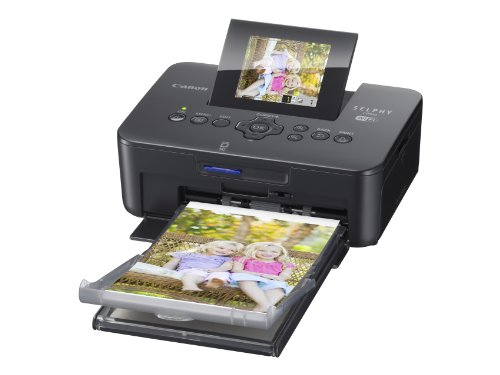 Canon SELPHY CP910 Compact Photo Color Printer, Wireless, Portable (Black)