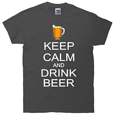 Keep Calm And Drink Beer Pitcher T-Shirt