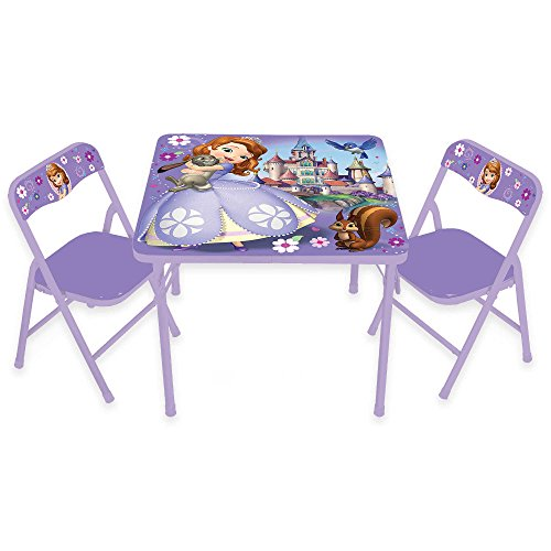 Sofia-the-First-3-Piece-Kids-Activity-Table-and-Chairs-Features-2-folding-chairs-and-table-Perfect-for-your-Kids-Playroom