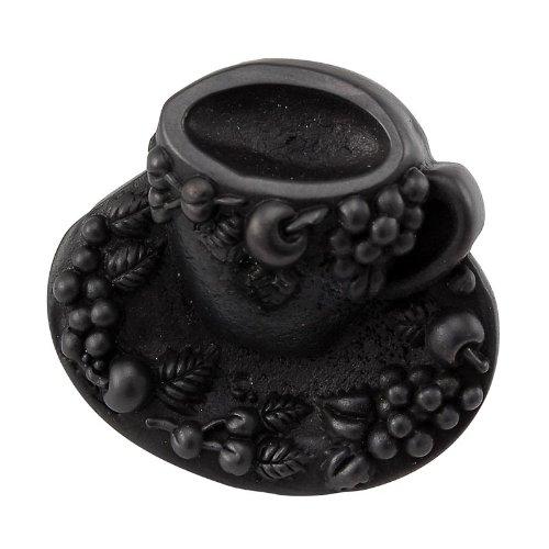 Vicenza Designs K1062  Cappuccino Cup Knob, Large, Oil-Rubbed Bronze