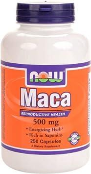 男人保健品海淘:NOW Foods MACA马卡胶囊 250粒,一天2粒