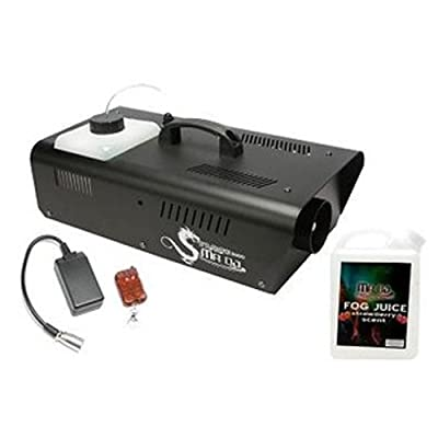 Mr. Dj DRAGON1200 Fog Machine with Wired Remote Control and Scented Fog Juice by Mr. Dj Inc.