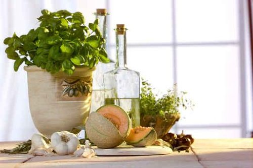 Terracotta + herbs - 60
