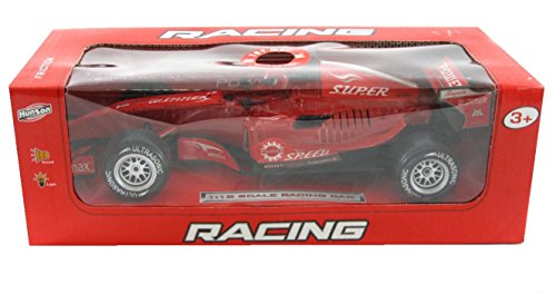 Hunson, Racing Car, Red - 1