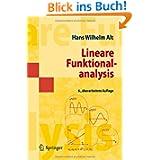 Lineare Funktionalanalysis: Eine anwendungsorientierte Einführung (Springer-Lehrbuch Masterclass) (German Edition...