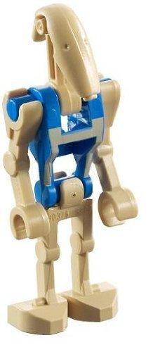 LEGO Star Wars - Minifigur Battle Droid mit blauem Aufdruck