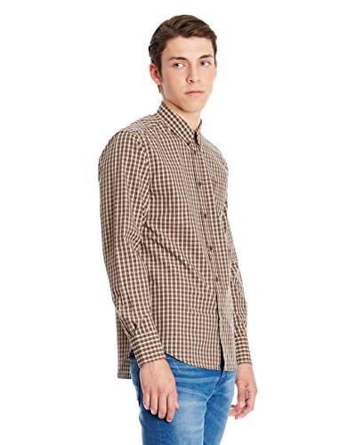Merc Camicia Uomo Coventry [Marrone]