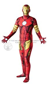 Iron ManTM - Adult 2nd Skin Costume Men : LARGE by RUBBIES FRANCE [並行輸入品]