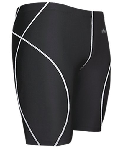 emFraa Men's Compression Base layer Running Tight Skin Shorts