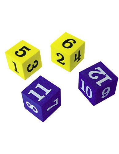 Teacher Created Resources Foam Numbered Dice (20609)