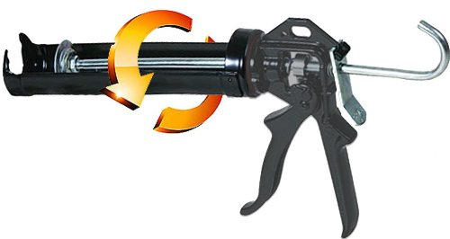 Markson Extra Heavy Duty Swivel Body Caulking Gun 10.3-ounce Cartridge (9 Inch)
