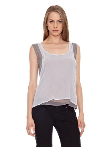 Pepe Jeans London Top Keshia Grigio S
