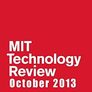 Audible Technology Review, October 2013 | [Technology Review]