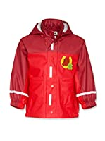 Playshoes Chaqueta Impermeable (Rojo)